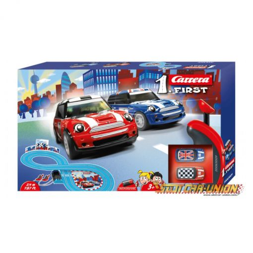 CIRCUITO COCHES CARRERA MINI COOPER
